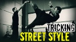 Tricking. Street style